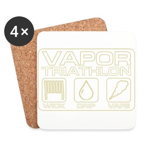 Vapor Triathlon - Untersetzer (4er-Set)
