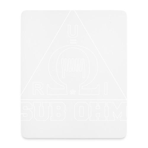 Sub Ohm - Mousepad (Hochformat)