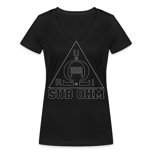 Sub Ohm - Frauen Bio-T-Shirt mit V-Ausschnitt von Stanley & Stella