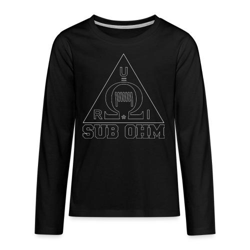 Sub Ohm - Teenager Premium Langarmshirt