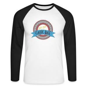 Classic Base 50/50 - Männer Baseballshirt langarm