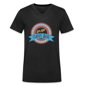 Classic Base 50/50 - Männer Bio-T-Shirt mit V-Ausschnitt von Stanley & Stella