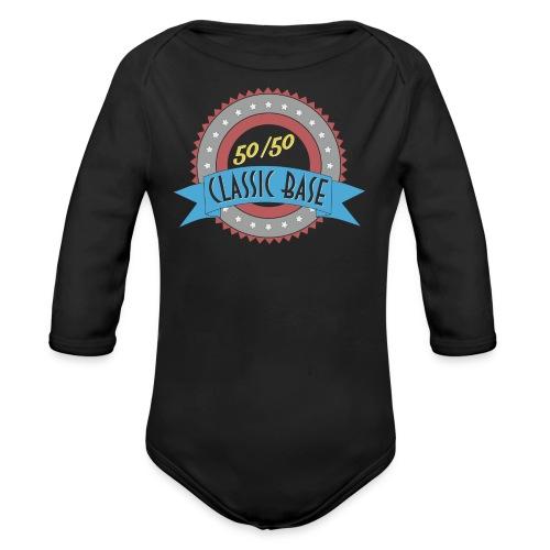 Classic Base 50/50 - Baby Bio-Langarm-Body