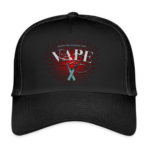 Enjoy the flavour, vape - Trucker Cap