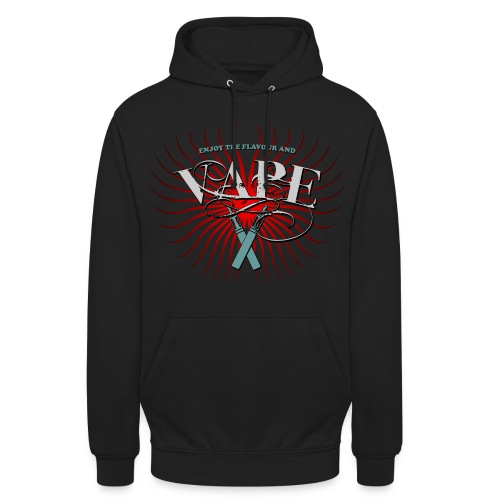 Enjoy the flavour, vape - Unisex Hoodie