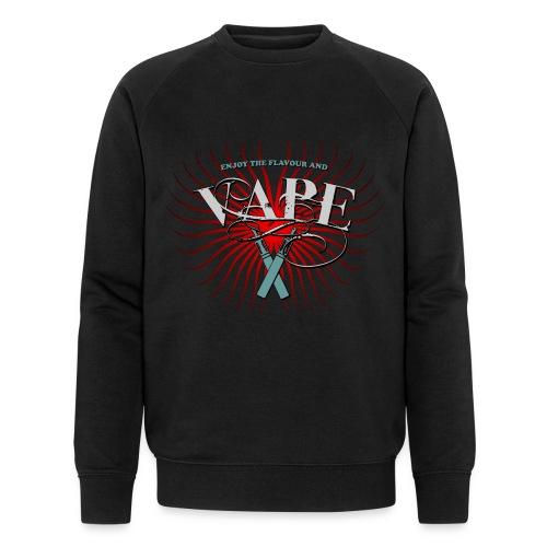 Enjoy the flavour, vape - Männer Bio-Sweatshirt von Stanley & Stella