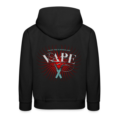 Enjoy the flavour, vape - Kinder Premium Hoodie