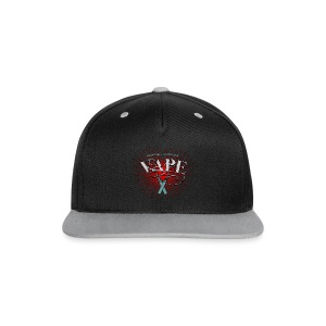 Enjoy the flavour, vape - Kontrast Snapback Cap