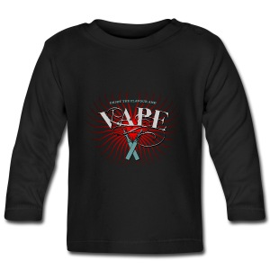Enjoy the flavour, vape - Baby Langarmshirt