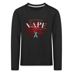 Enjoy the flavour, vape - Kinder Premium Langarmshirt