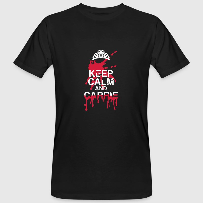 Keep calm Carrie bloodstain T-Shirts - Men's Organic T-shirt