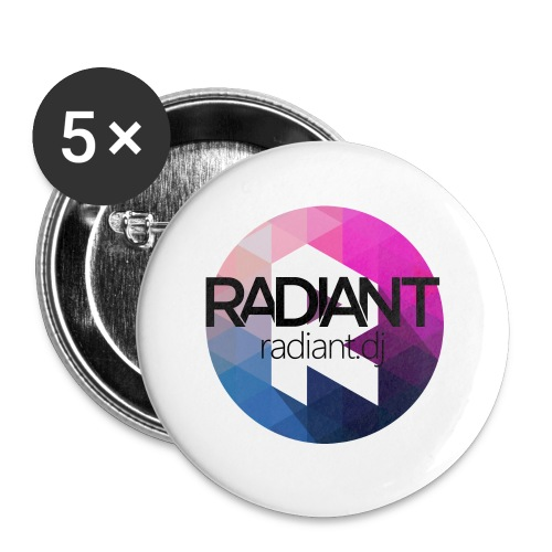 Radiant Mug - Buttons large 2.2''/56 mm(5-pack)