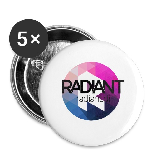 Radiant Mug - Buttons medium 1.26/32 mm (5-pack)
