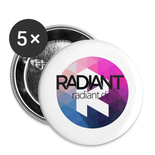 Radiant Mug - Buttons small 1''/25 mm (5-pack)