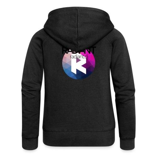 Radiant Mug - Women's Premium Hooded Jacket