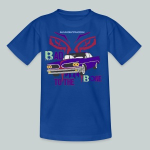 bad to the bone - Kids' T-Shirt