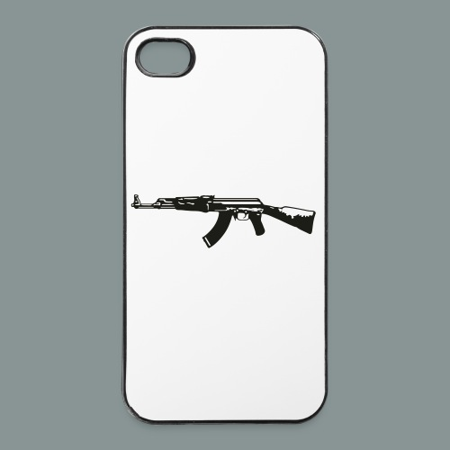 ak-47 tee teen 13+ - iPhone 4/4s Hard Case