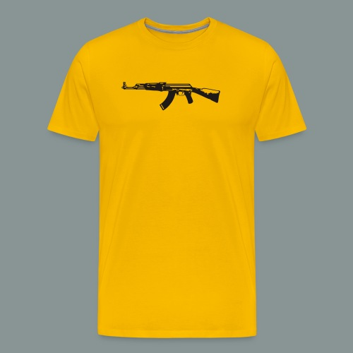 ak-47 tee teen 13+ - Herre premium T-shirt