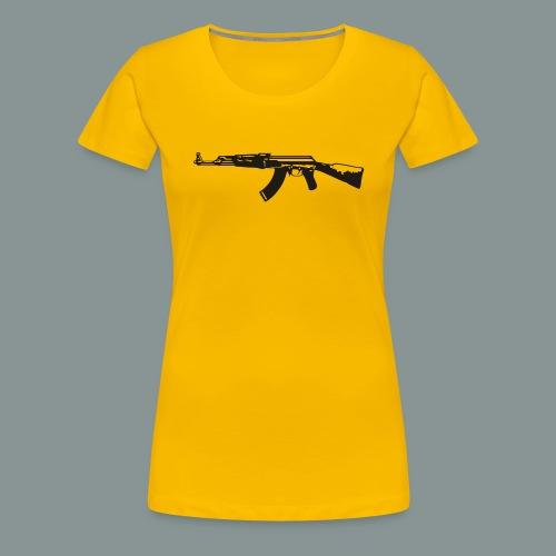 ak-47 tee teen 13+ - Dame premium T-shirt