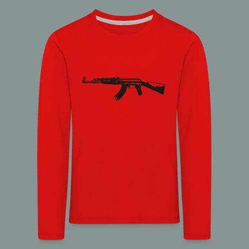 ak-47 tee teen 13+ - Børne premium T-shirt med lange ærmer