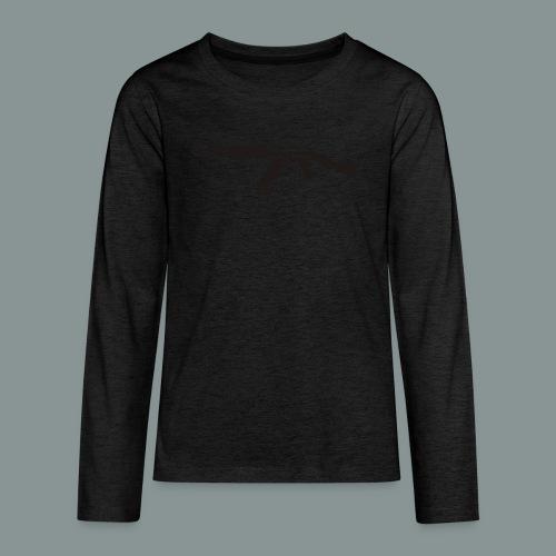 ak-47 tee teen 13+ - Teenager premium T-shirt med lange ærmer