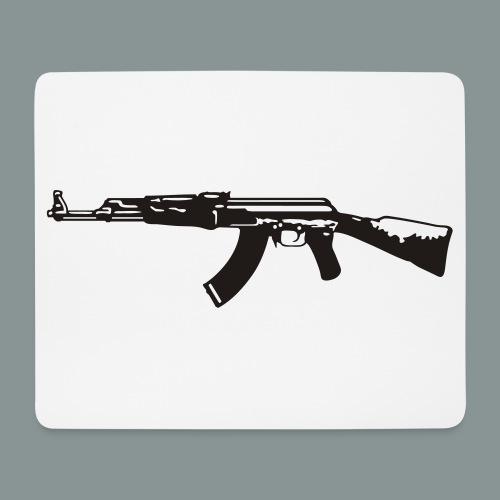 ak-47 tee teen 13+ - Mousepad (bredformat)