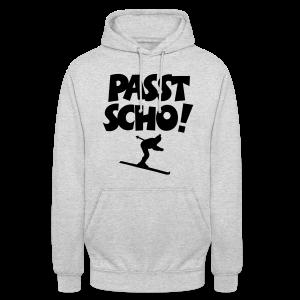 Passt Scho Skifahrer S-5XL T-Shirt - Unisex Hoodie