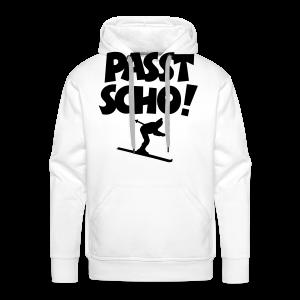 Passt Scho Skifahrer S-5XL T-Shirt - Männer Premium Hoodie
