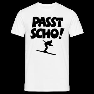Passt Scho Skifahrer S-5XL T-Shirt - Männer T-Shirt
