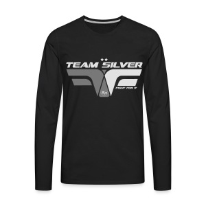 Sweat - TEAM SILVER - Club SuperPhysique - T-shirt manches longues Premium Homme