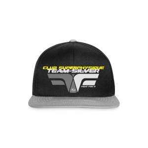 Sweat - TEAM SILVER - Club SuperPhysique - Casquette snapback