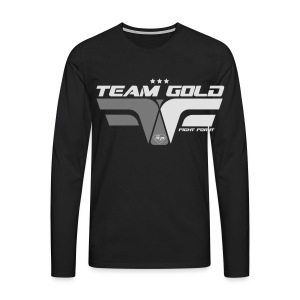 Sweat - Team GOLD - Club SuperPhysique - T-shirt manches longues Premium Homme