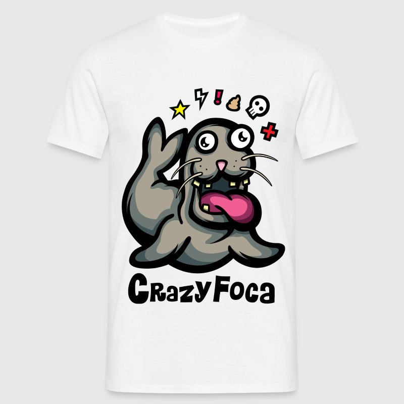 CrazyFoca T-Shirts - Men's T-Shirt