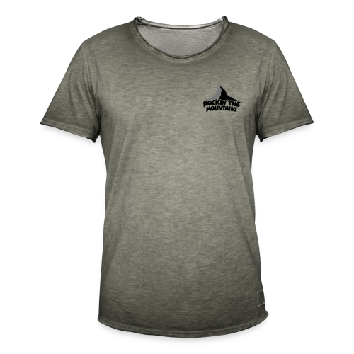 Rockin' the Mountains S-3XL T-Shirt - Männer Vintage T-Shirt
