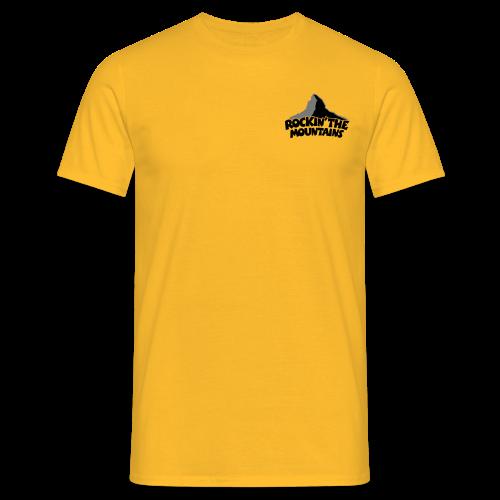 Rockin' the Mountains S-3XL T-Shirt - Männer T-Shirt