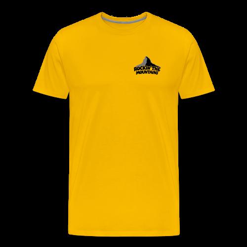 Rockin' the Mountains S-3XL T-Shirt - Männer Premium T-Shirt