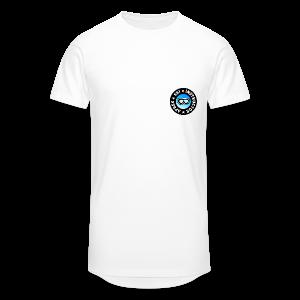 Après-Ski Instructor (Goggles/Blue) T-Shirt - Männer Urban Longshirt