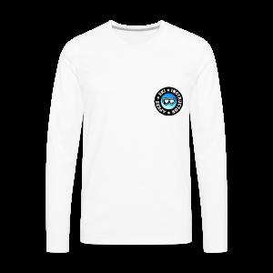 Après-Ski Instructor (Goggles/Blue) T-Shirt - Männer Premium Langarmshirt