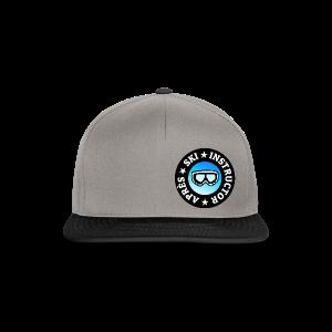 Après-Ski Instructor (Goggles/Blue) T-Shirt - Snapback Cap