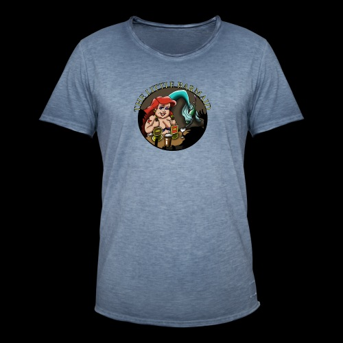 The Little Barmaid - Men's Vintage T-Shirt