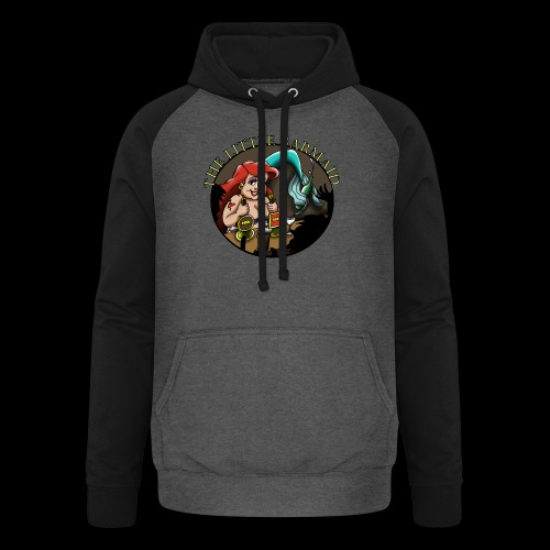 The Little Barmaid - Unisex Baseball Hoodie