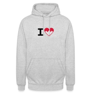 I Love Mountains - Unisex Hoodie