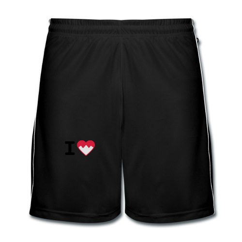 I Love Mountains - Männer Fußball-Shorts