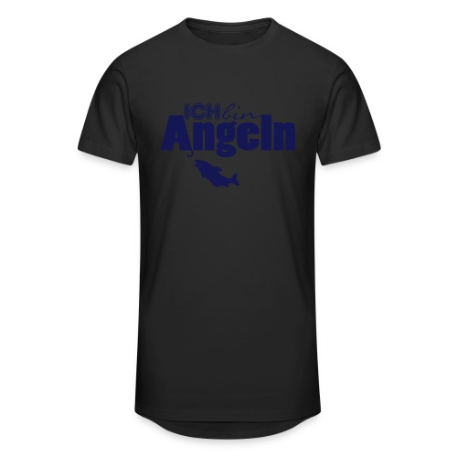 Ich bin Angeln   Anglermotiv - Männer Urban Longshirt