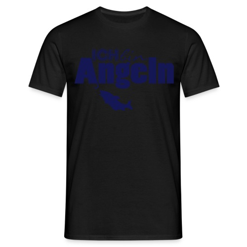 Ich bin Angeln   Anglermotiv - Männer T-Shirt