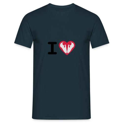 I Love Climbing - Männer T-Shirt