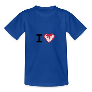 I Love Climbing - Kinder T-Shirt