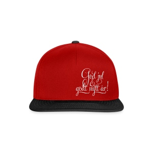 God jul & godt nytt år! - Snapback-caps