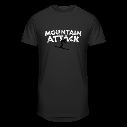 Mountain Attack Ski (Vintage Schwarz/Weiß) S-5XL T-Shirt - Männer Urban Longshirt