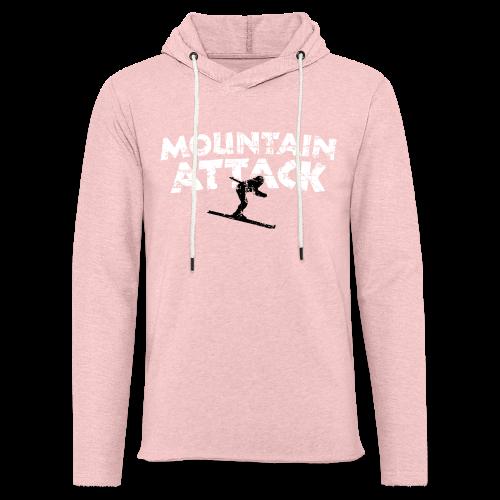 Mountain Attack Ski (Vintage Schwarz/Weiß) S-5XL T-Shirt - Leichtes Kapuzensweatshirt Unisex
